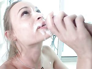 Fuck The Cutie In POV And Cum On Her Adorable Face