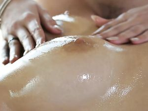 Big Cock Stroked And Sucked By Massage Babes