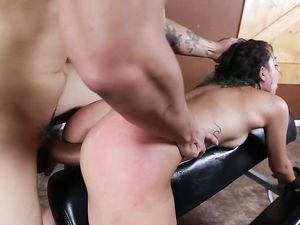 Roughly Fingered And Face Fucked Girl Loves Dick