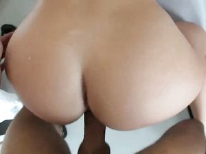 Perfect Big Ass On A Gorgeous POV Hardcore Babe