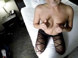 Black Body Stocking On A Babe He Fucks In POV