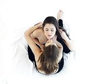 Sensuality Is Sexy Between Lesbian Teen Girlfriends