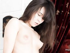 Erotic Interracial Foreplay Excites The Sexy White Teen