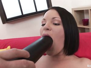 Big Toys And Dicks Stretch Her Russian Teen Asshole