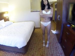 Gorgeous Young Escort Makes Him Cum So Hard