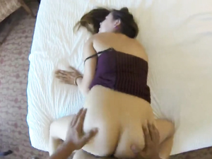 Young Hooker In A Hot Dress Makes Her Client Cum