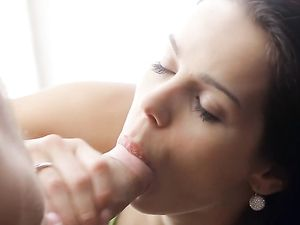 Best Teen Blowjob Ever From This Brown Eyed Cutie