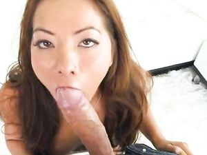 Dick Loving Asian Girl Pounded Hard By That Big Fuck Stick