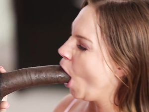 Curvy Cutie Filled With Cream By His Big Black Cock