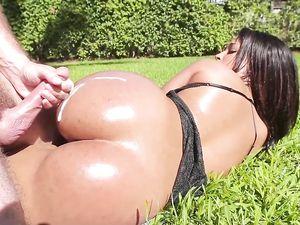Ava Sanchez In The Pool Having Latina Sex